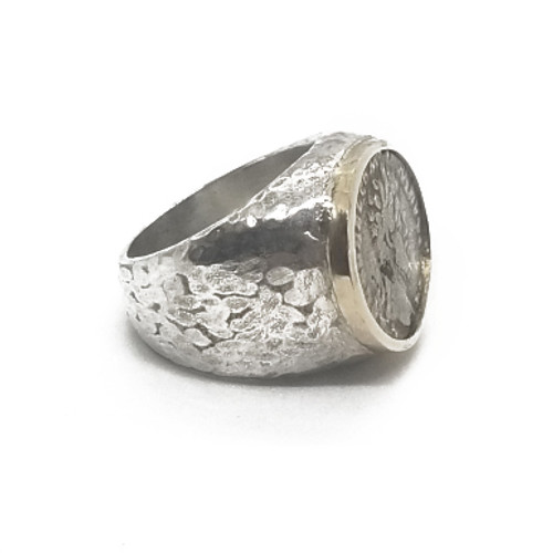 Sterling Silver and 14KY A.R.C Ring