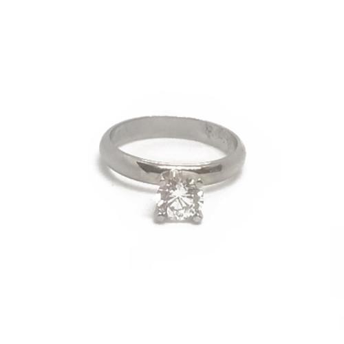 14KW Round Diamond Wedding Ring