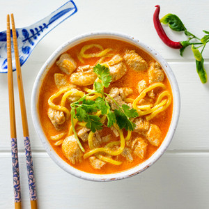 Chicken Laksa High Angle