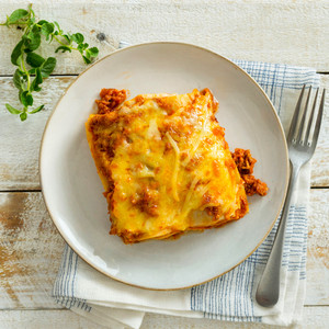 Lasagne High Angle