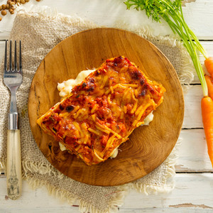 Vegetable Lasagne High Angle