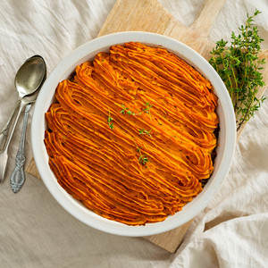 Cottage Pie Family Size High Angle