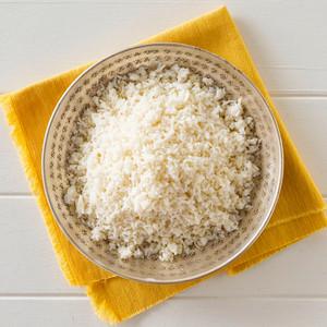 Basmati Rice Side Portion High Angle
