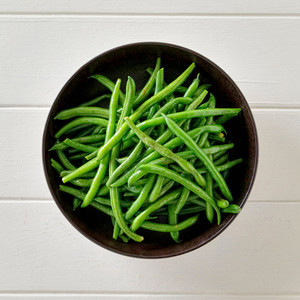 Green Beans Side Portion High Angle