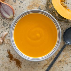 Butternut Pumpkin Soup Close Up