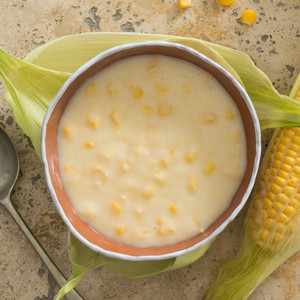 Sweet Corn Chowder Close Up