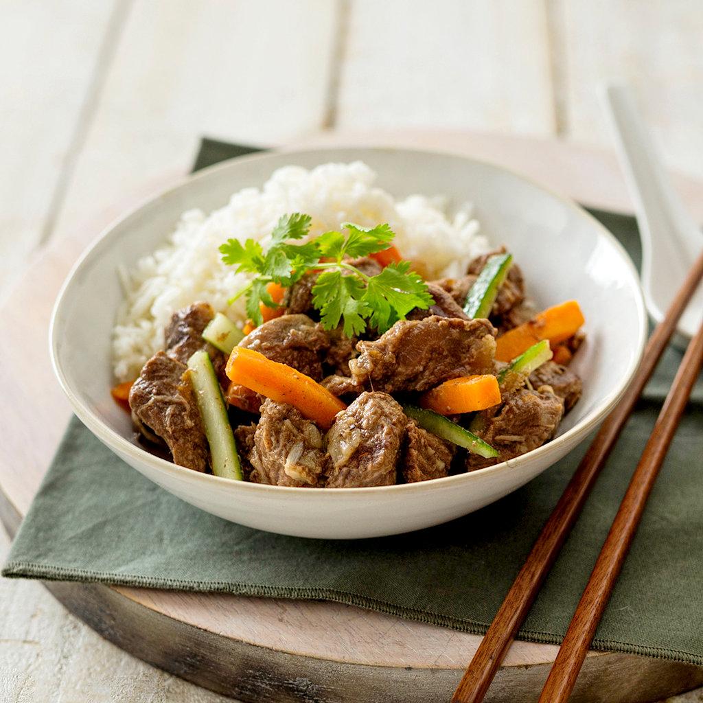 Beef Stir Fry With Rice Eye Level