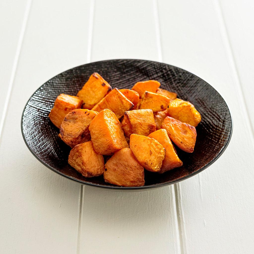 Roast Sweet Potato Side Portion Eye Level