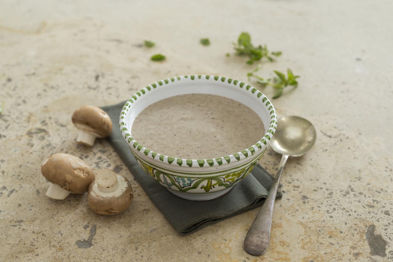 Creamy Mushroom Soup Eye Level