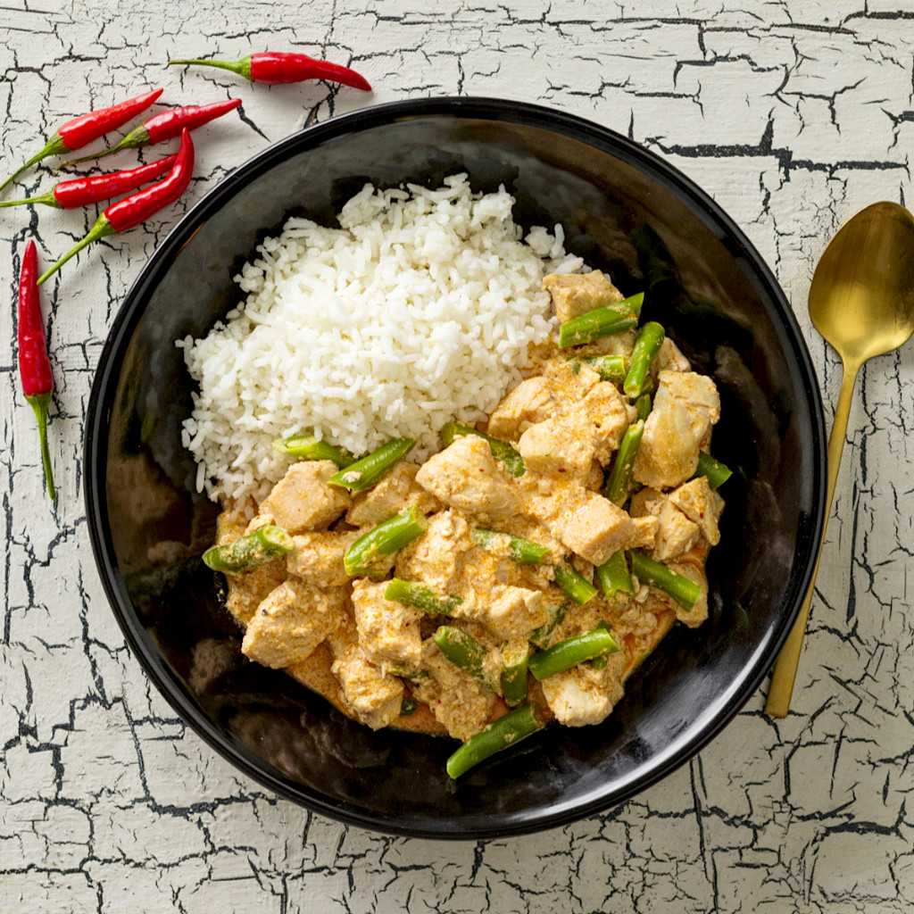 Thai Red Pork Curry