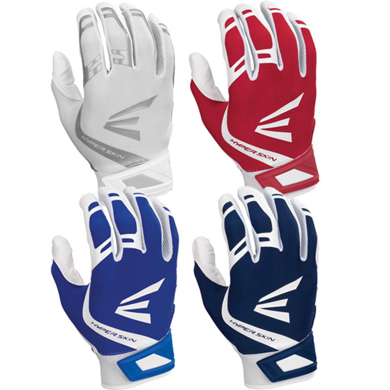 New Easton ZF7 VRS Hyperskin Women/'s Fastpitch Softball Batting Gloves