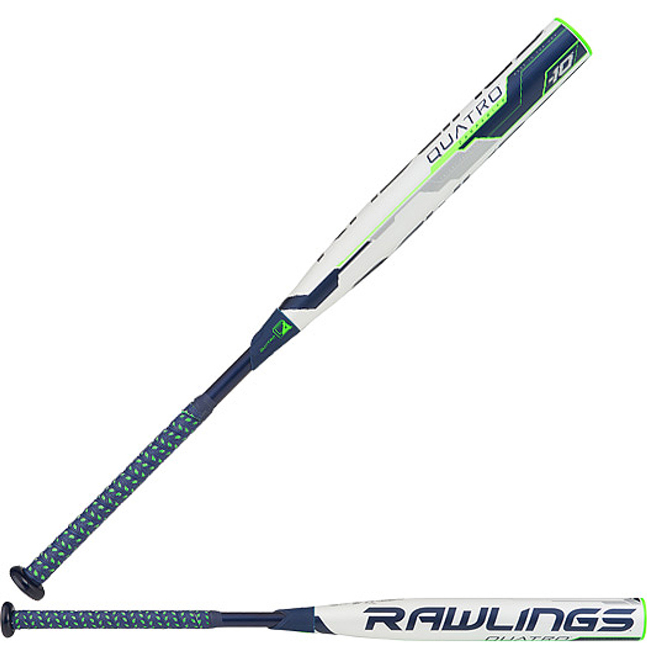 2018 Rawlings Quatro Pro Fastpitch Softball Bat FPQP10