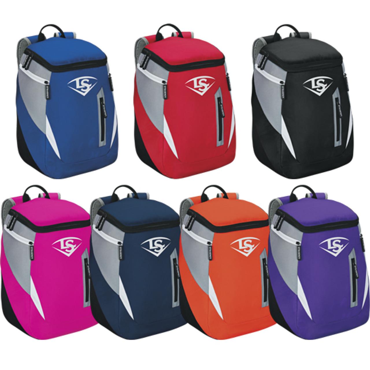 WTL9302TC Louisville Slugger MLB Genuine Stick Pack Backpack Bookbag
