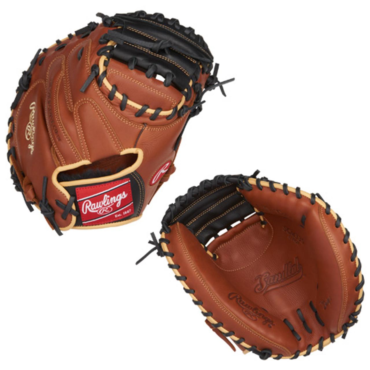 "Rawlings SCM33S 33/"" Sandlot Series Baseball Catchers Mitt"