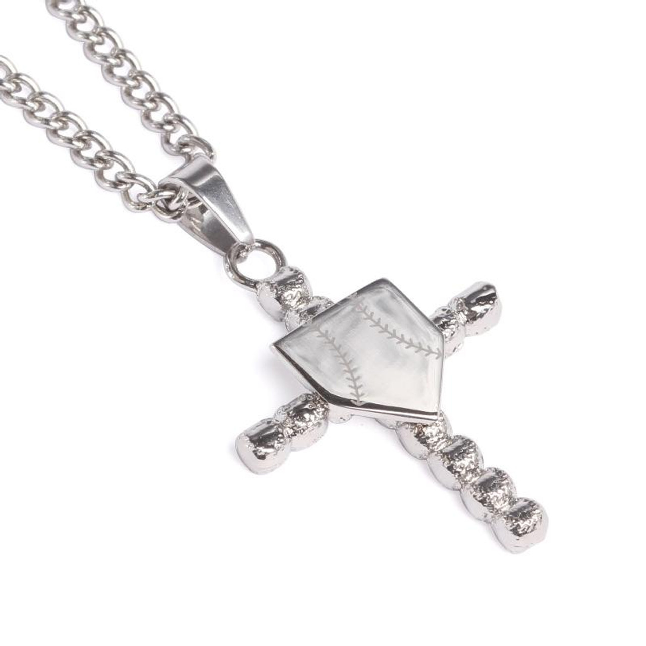 Equilibrium Personally Yours Necklace And 1 Letter Initial Charm Platinum Plated