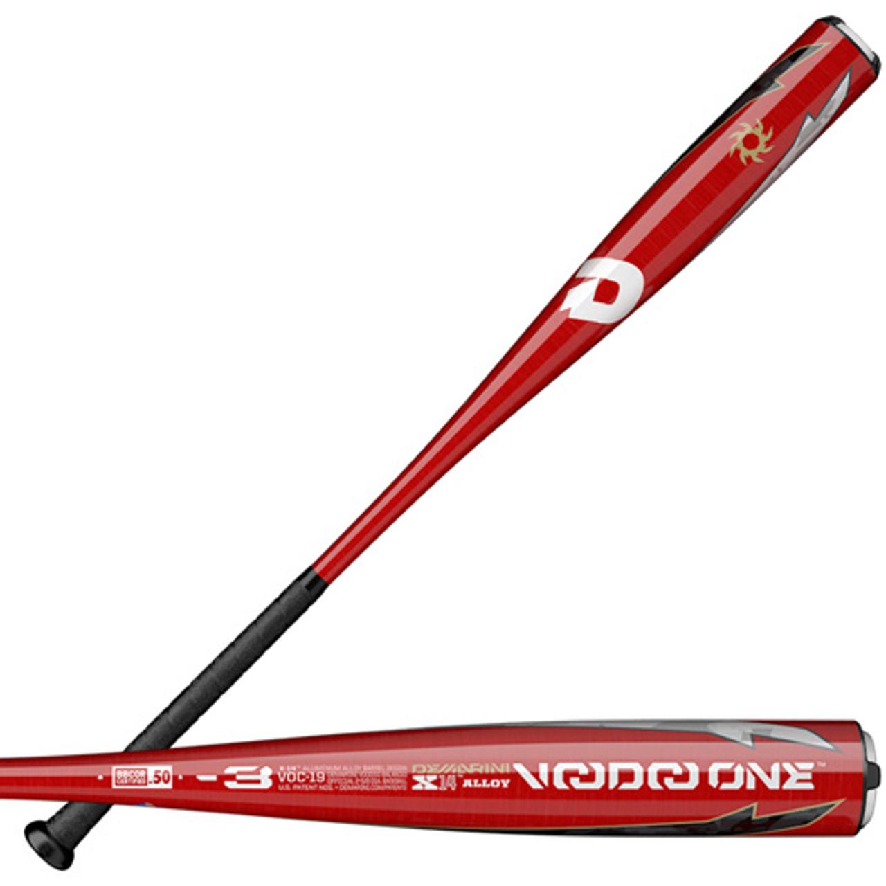 WTDXVOC 2019 DeMarini Voodoo One BBCOR Baseball Bat