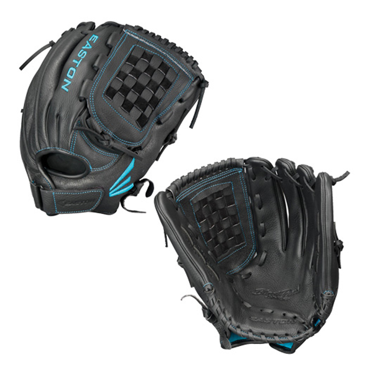 """Easton BP1250FP 12.5/"""" Black Pearl Fastpitch Series Youth Outfield Softball Glove"""