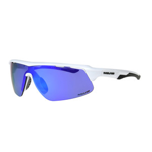 White//Orange Brand New Rawlings Athletic Wrap Youth Sunglasses 10211367