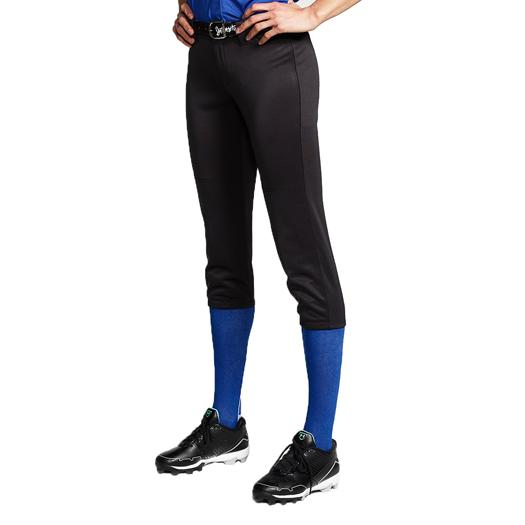 White Intensity Women/'s Cooldown Fastpitch Softball Pants Navy Black
