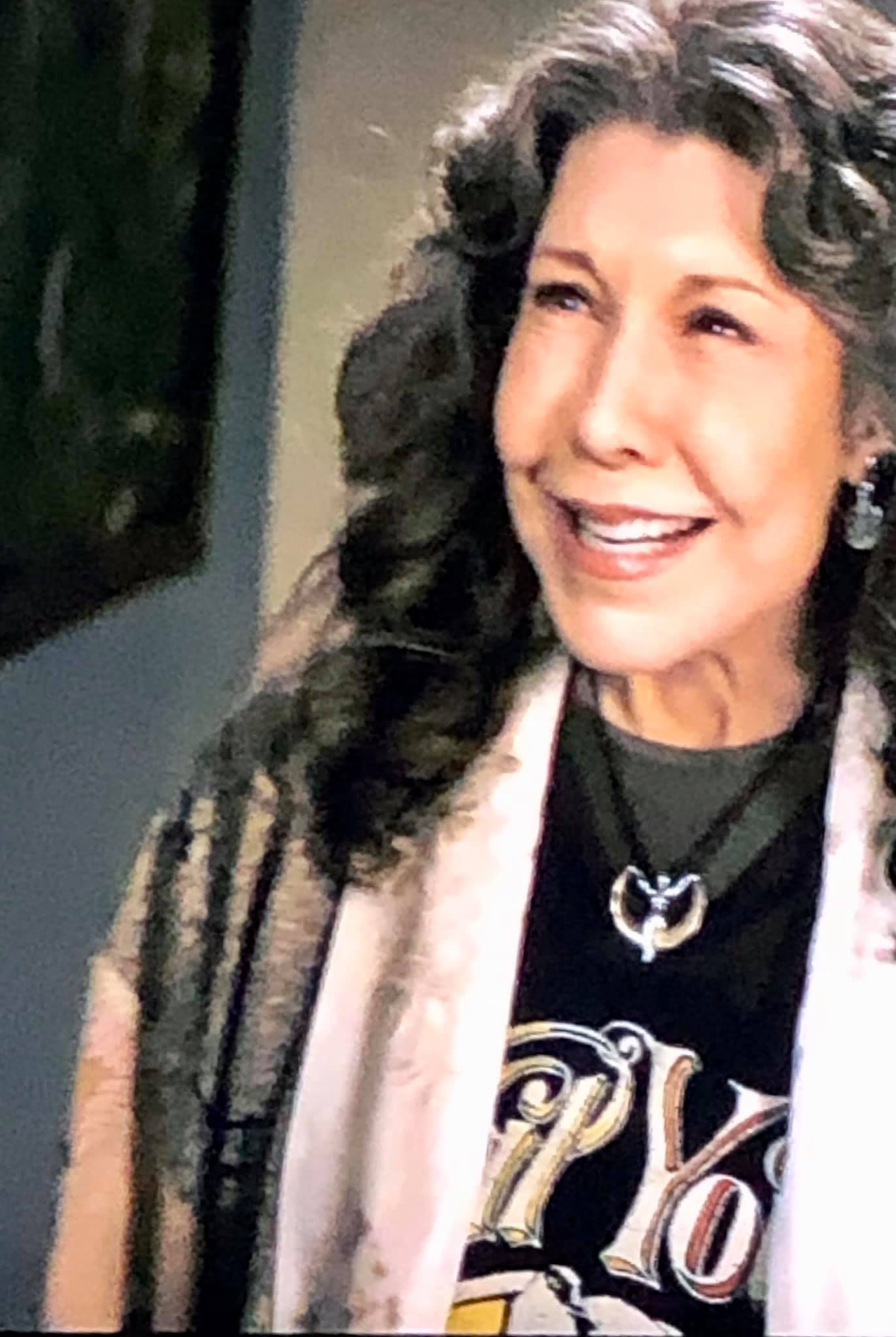 Lily Tomlin Deva Designs Goddess Pendant