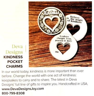 Kindness Charms featured in Gift Shop Magazine