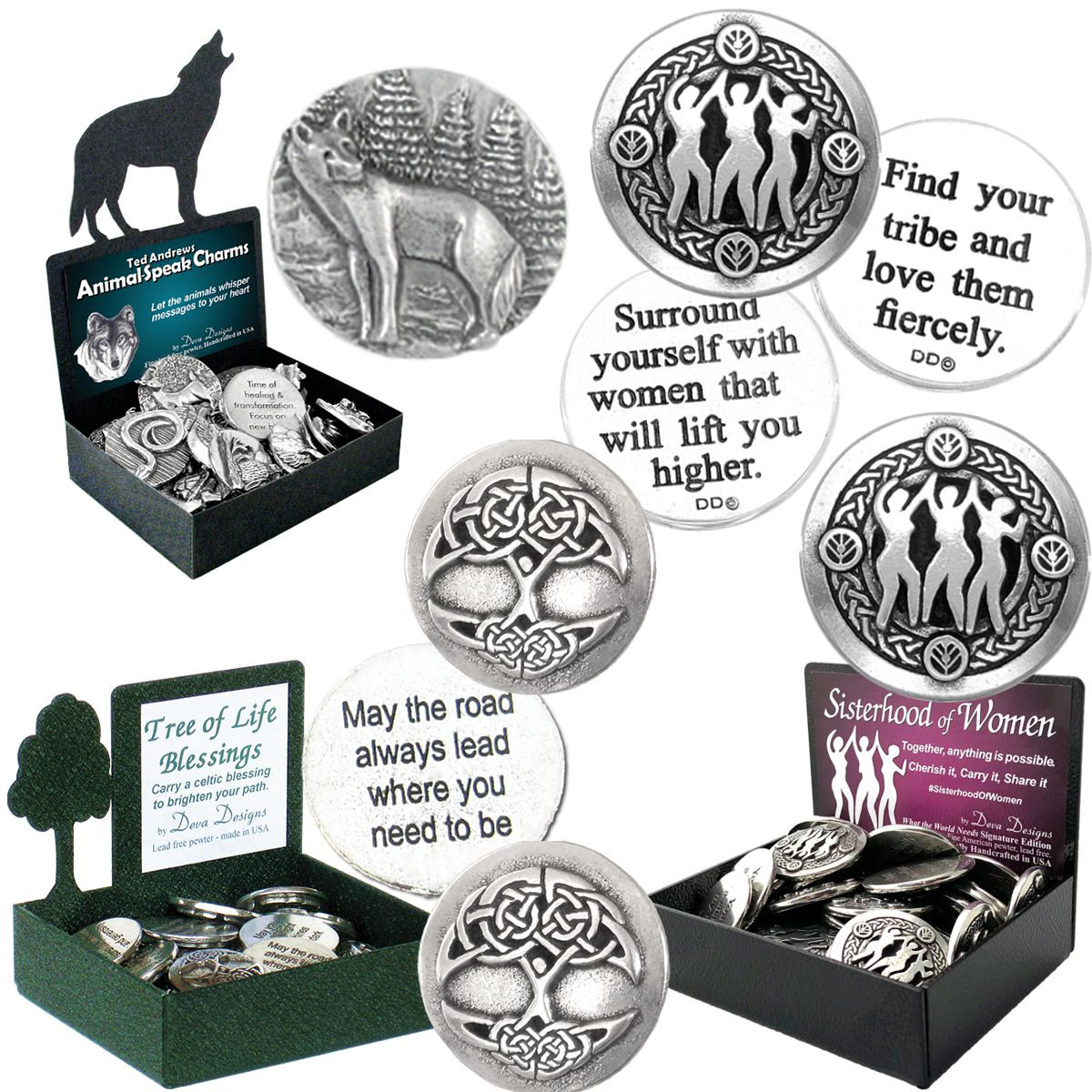Top Sellers by Deva Designs pewter charms