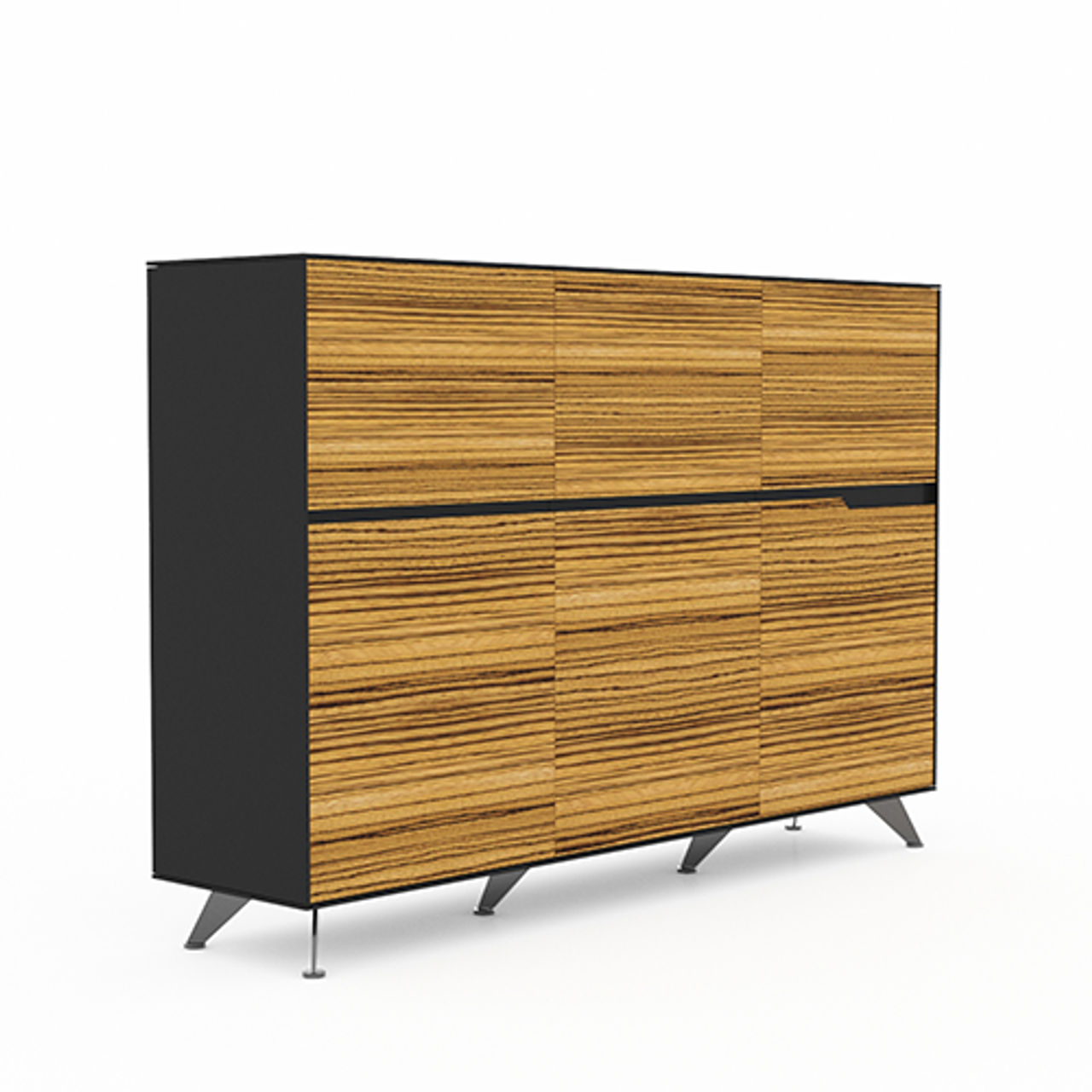 Picture of: Novara Large Office Storage Cabinets 6 Doors Urban Hyve