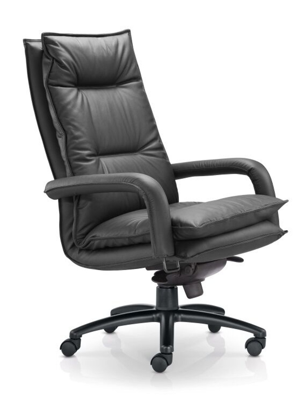 Bliss High Back Leather Office Chair Manager Executive Level Urban Hyve