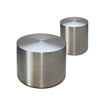 Drum Coffee Table Stainless