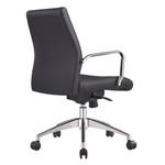 Cruz Black PU Modern Executive Office Chair