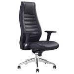 Boston Syncron PU Back Black Executive Seating Chair