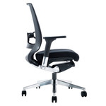 Evita Mesh Back Modern Executive Chair - Black