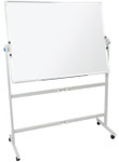 Double Sided Mobile Whiteboards