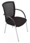 WMVBK Mesh Back Visitor Chair - Black