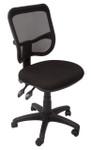 EM300 Medium Mesh Back Ergonomic Operator Chair