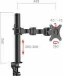 Revolve Monitor Arm
