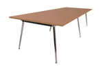 Quick Air Boardroom Table - 1 Piece top - Single Stage