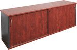 Block Manager Sliding door Credenza