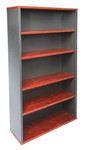 Block Manager Open Bookcase - Appletree / Ironstone