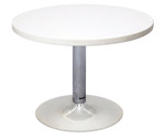 Round Coffee Table - Chrome Base