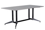 Cyclone Meeting Table - Dual Post - Single Stage