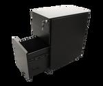 Quickline 3 Drawer Slim Steel Mobile Pedestal