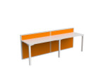 Atelier 2 Person Office Workstations - Single Sided Desks