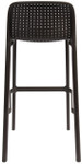 Bora Stackable Outdoor Bar Chair - 750mm Height