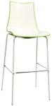 Bicolore Metal Bar Chair -  800mm Height - Italian Design