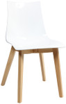 Zebra Timber Visitor / Breakout Area Chair