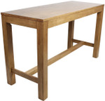 Chunky Rubberwood Bar Table