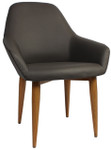 Bronte Tub Chair - Metal Legs