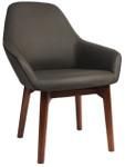 Bronte Tub Chair - Timber Leg