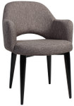 Albury Arm Chair - Metal 4 Leg Base